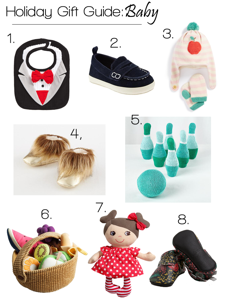 Baby Gifts For Christmas 2014 : Holiday gift guides kids