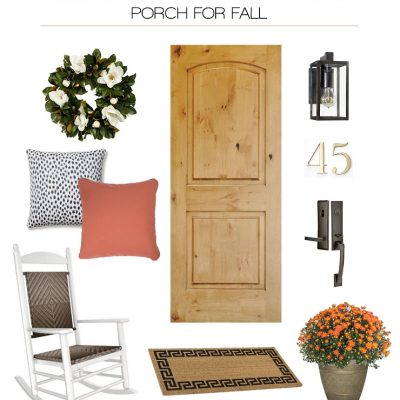 Simple Ways To Spruce Up Your Porch For Fall