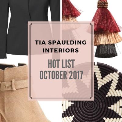 Hot List: October 2017