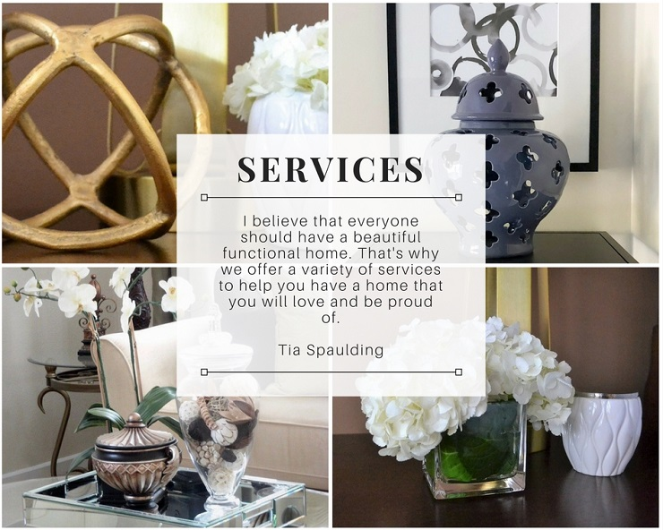 Tia Spaulding Interiors Design Services