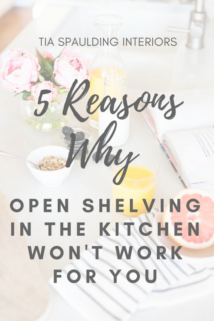 5 Reasons Why Open Shelving In The Kitchen Won't Work For You
